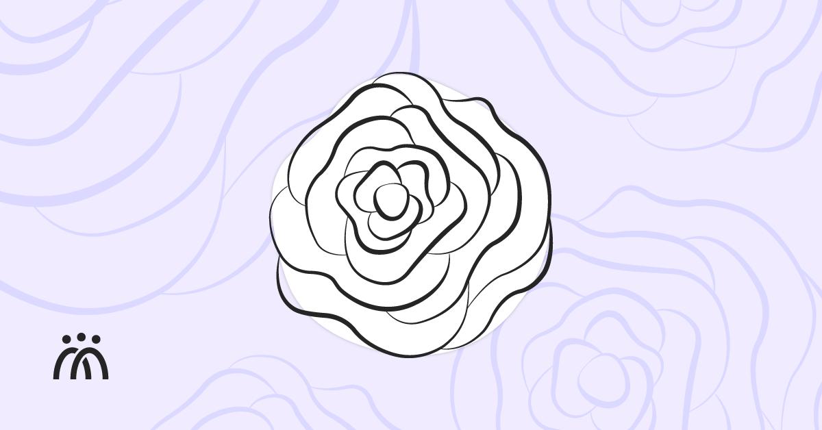 Disseny de la Fundació IRES amb la Rosa Blanca