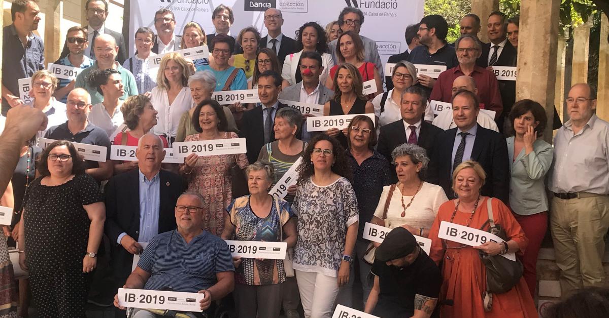 Entidades que reciben la ayuda de Bankia y Fundación Sa Nostra