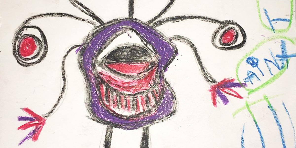 Els infants dibuixen i aprenen: què són els gèrmens?