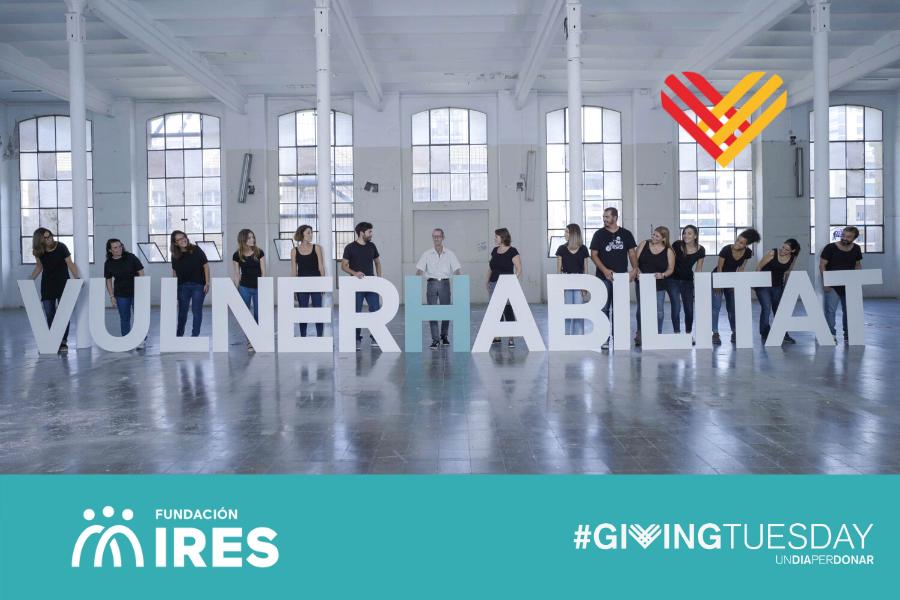 """Foto de campanya Vulnerhabilitat amb """"H"""": la capacitat de superar una situació difícil"""