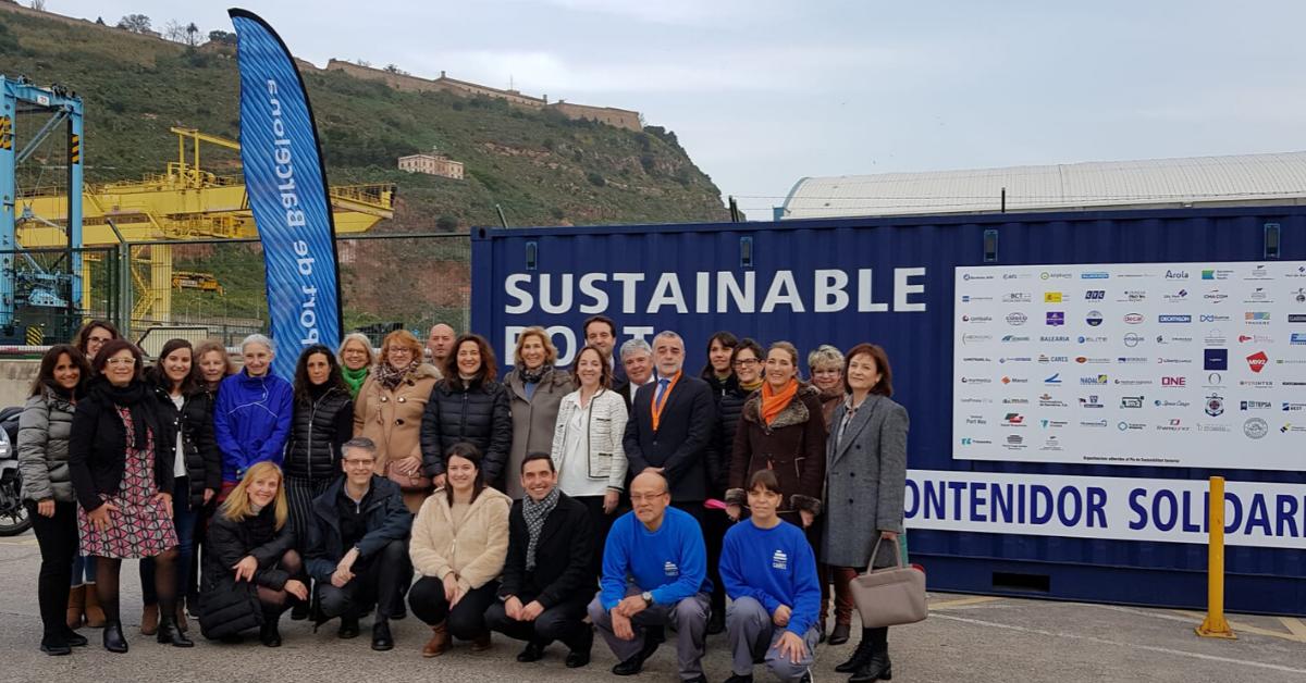 Imatge recapte final de productes al Port de Barcelona
